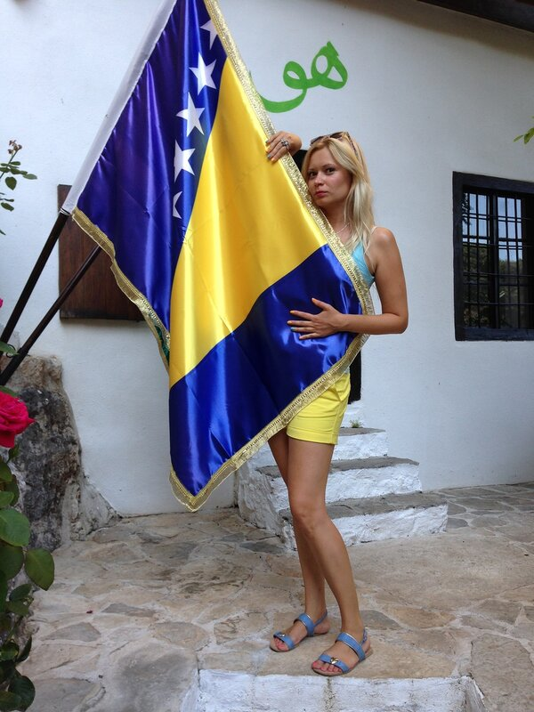 Боснийский флаг