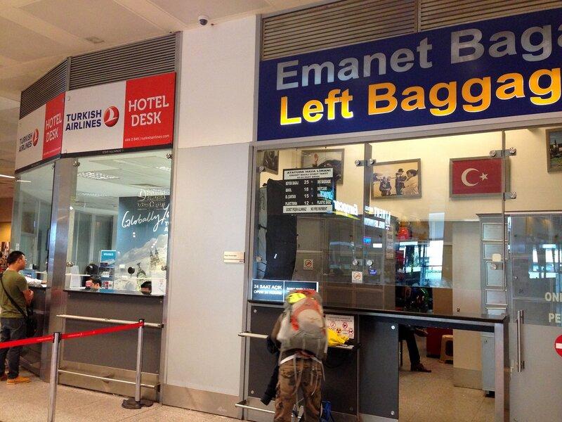 Аэропорт Ататюрк, Hotel Desk