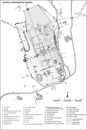 Генплан города  Аквилеи