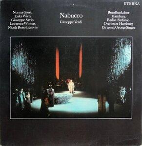Giuseppe Verdi. Nabucco (1974) [ETERNA, 8 25 364]
