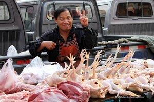 Утренний китайский рынок