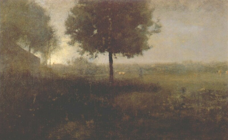 Hazy morning, montclair, new jersey, 1893