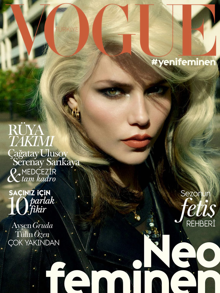 Наташа Поли (Natasha Poly) в журнале Vogue Turkey