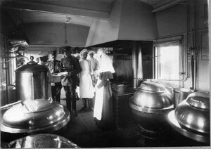 Кухня санитарного поезда
