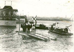 Подводная лодка Дельфин (1901 - 1904 гг.).
