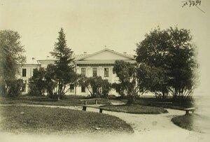 Вид здания тылового госпиталяТверского губернского земства (на 120 мест) в помещении губернской земской больницы