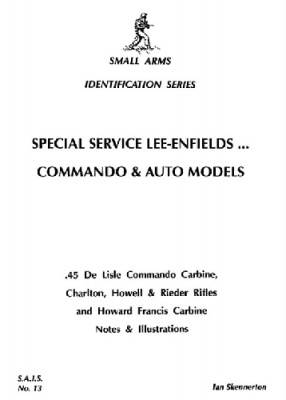 Книга Special Service Lee-Enfields Commando and Auto models