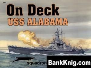 Книга Squadron-Signal On Deck-5601 - USS Alabama on Deck rar 47,5Мб