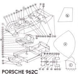 Журнал Porsche 962 c [VIKING]