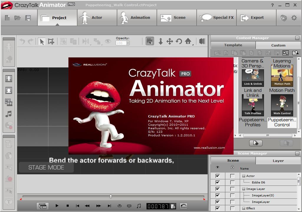 crazytalk 7 pro content pack crack + bonus