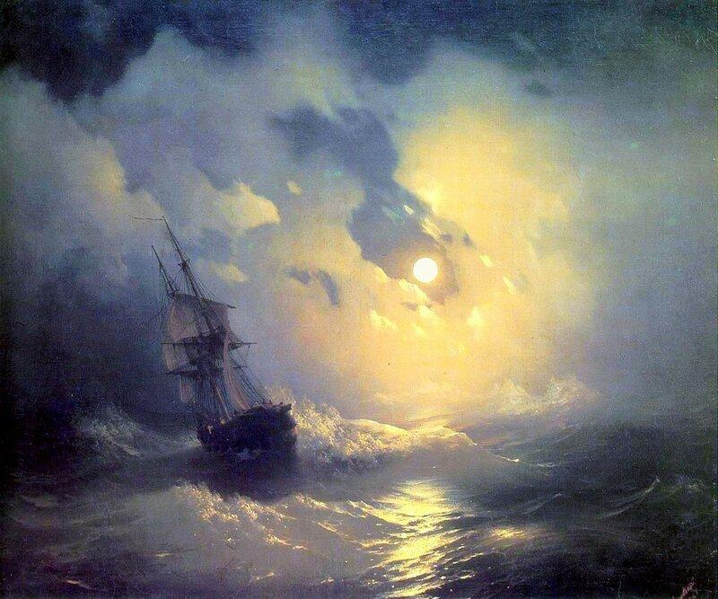 Айвазовский. Буря на море ночью.jpg