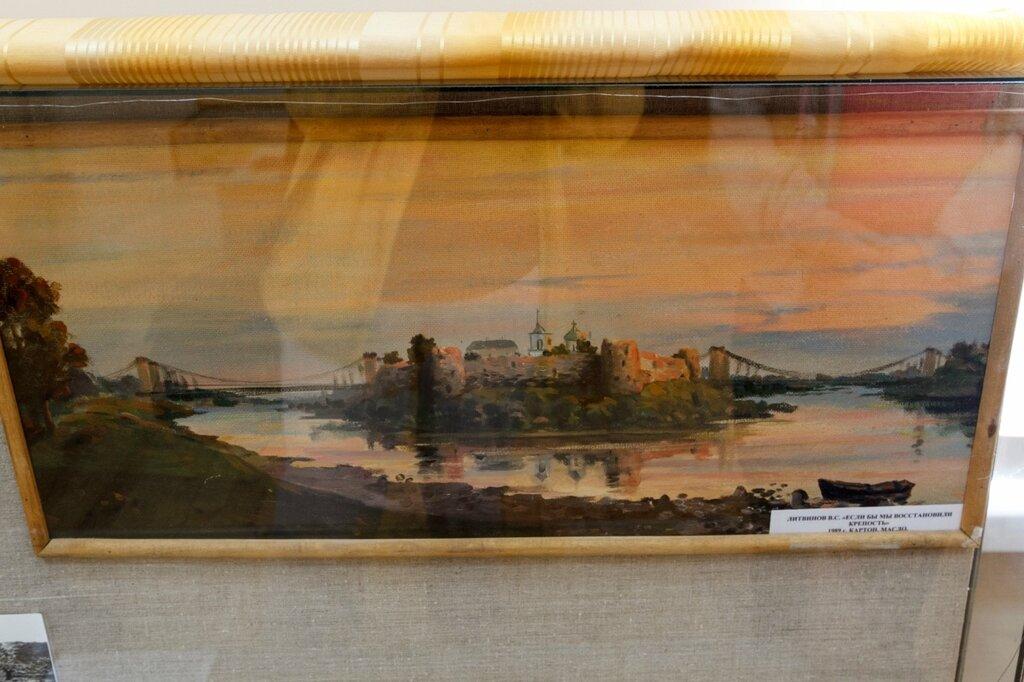 """Картина Литвинова В.С. """"Если бы мы восстановили крепость"""""""