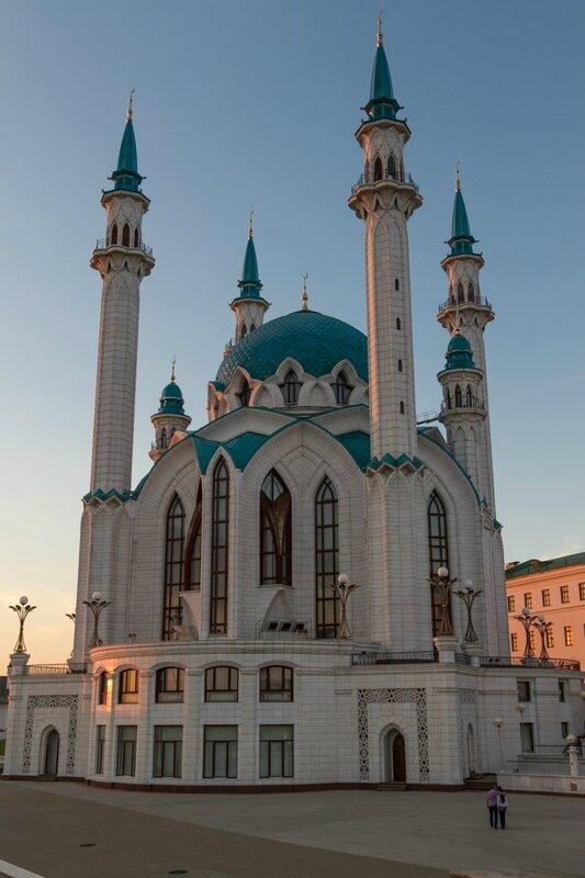 Голубая мечеть в Казанском кремле