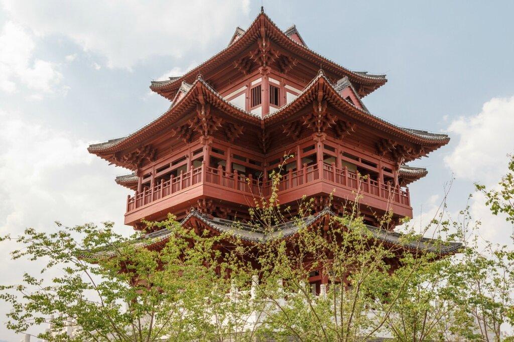 Башня Вэньчан, Парк-выставка садов, Пекин