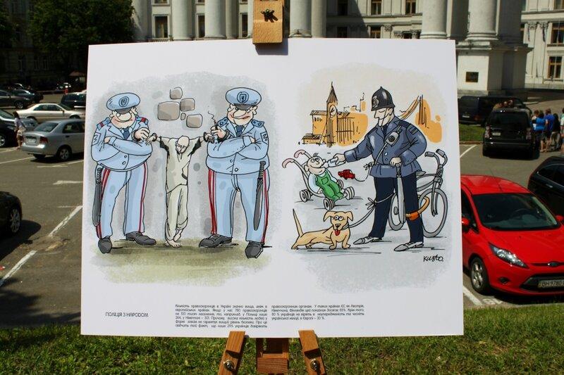 В Украине много милиции, но мало безопасности