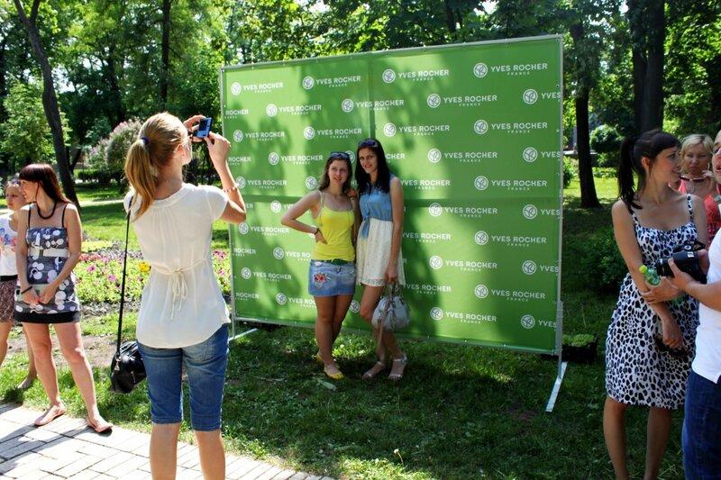 Участники акции фотографируются на память