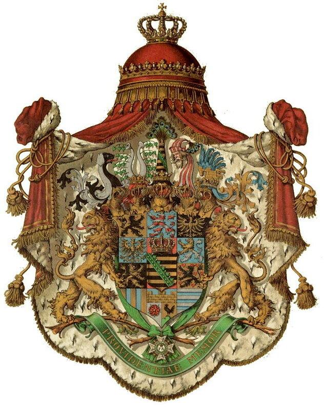 Большой герб Королевства Саксония