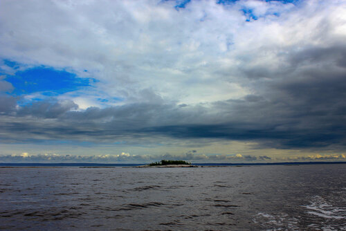 Каменные острова Белого моря