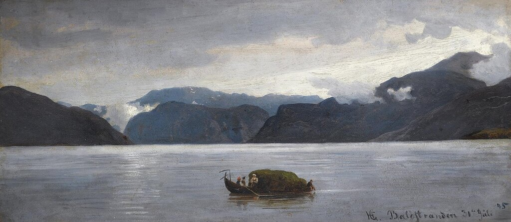 Hans Gude - Fra Balestrand (1845)..jpg