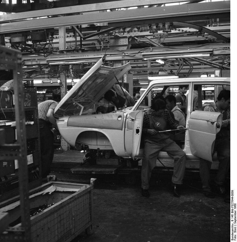Mьnchen, BMW Autowerk
