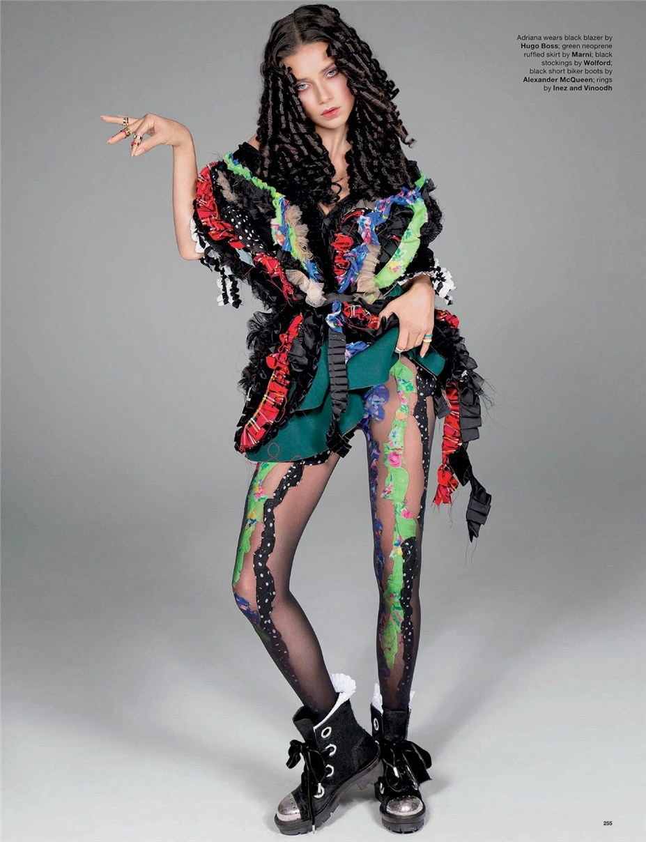 Кристи Тарлингтон и Адриана Лима / Adriana Lima & Christy Turlington by Inez & Vinoodh in Love #12 FW2014