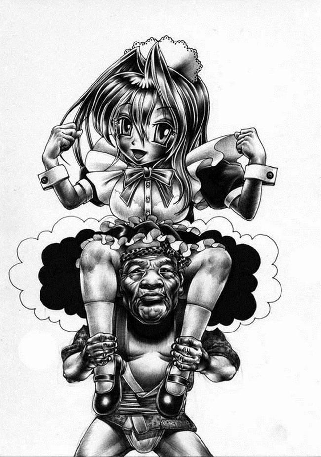 Сумасшедшие рисунки японского художника Shohei Otomo (6)