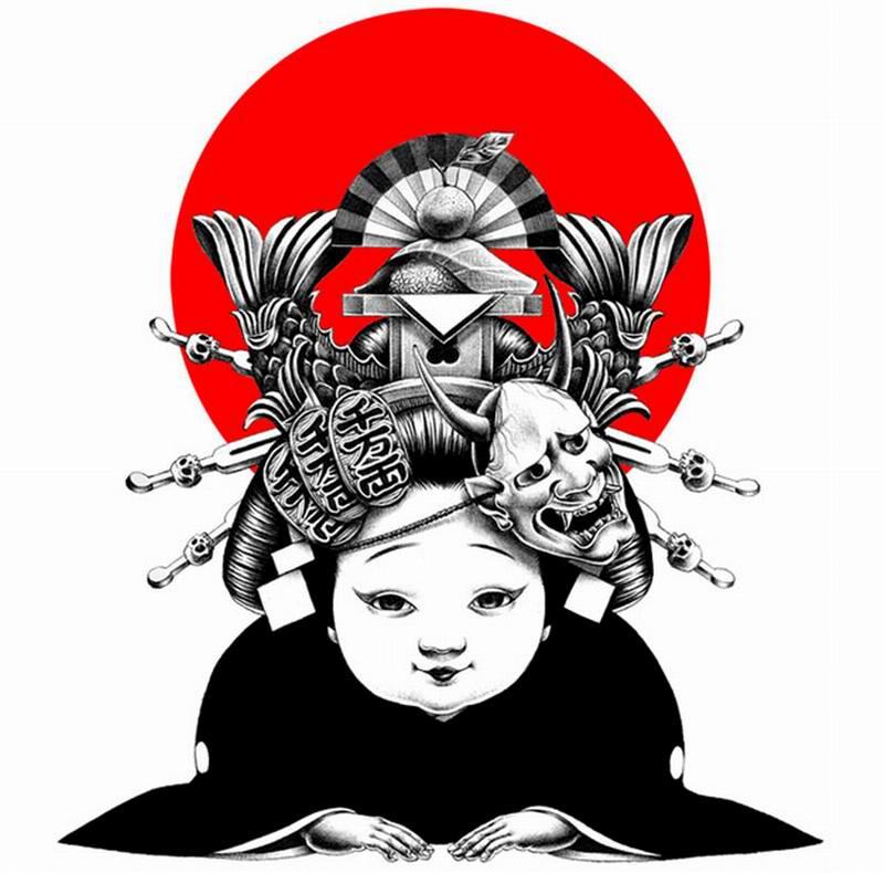 Сумасшедшие рисунки японского художника Shohei Otomo (35)
