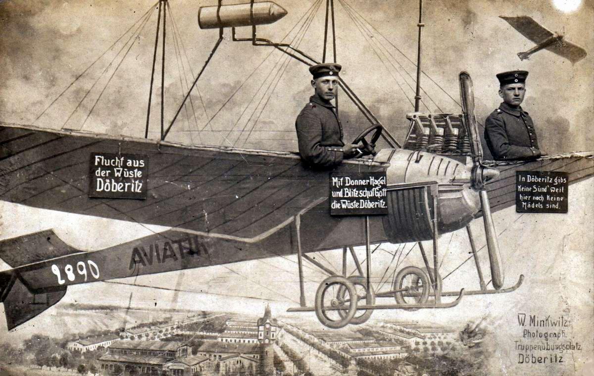 Художественные фоны для фотографий авиационной и воздухоплавательной тематики (4)