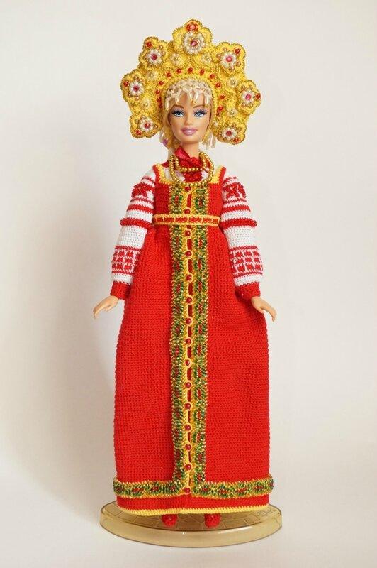 Как сделать костюм русской красавицы