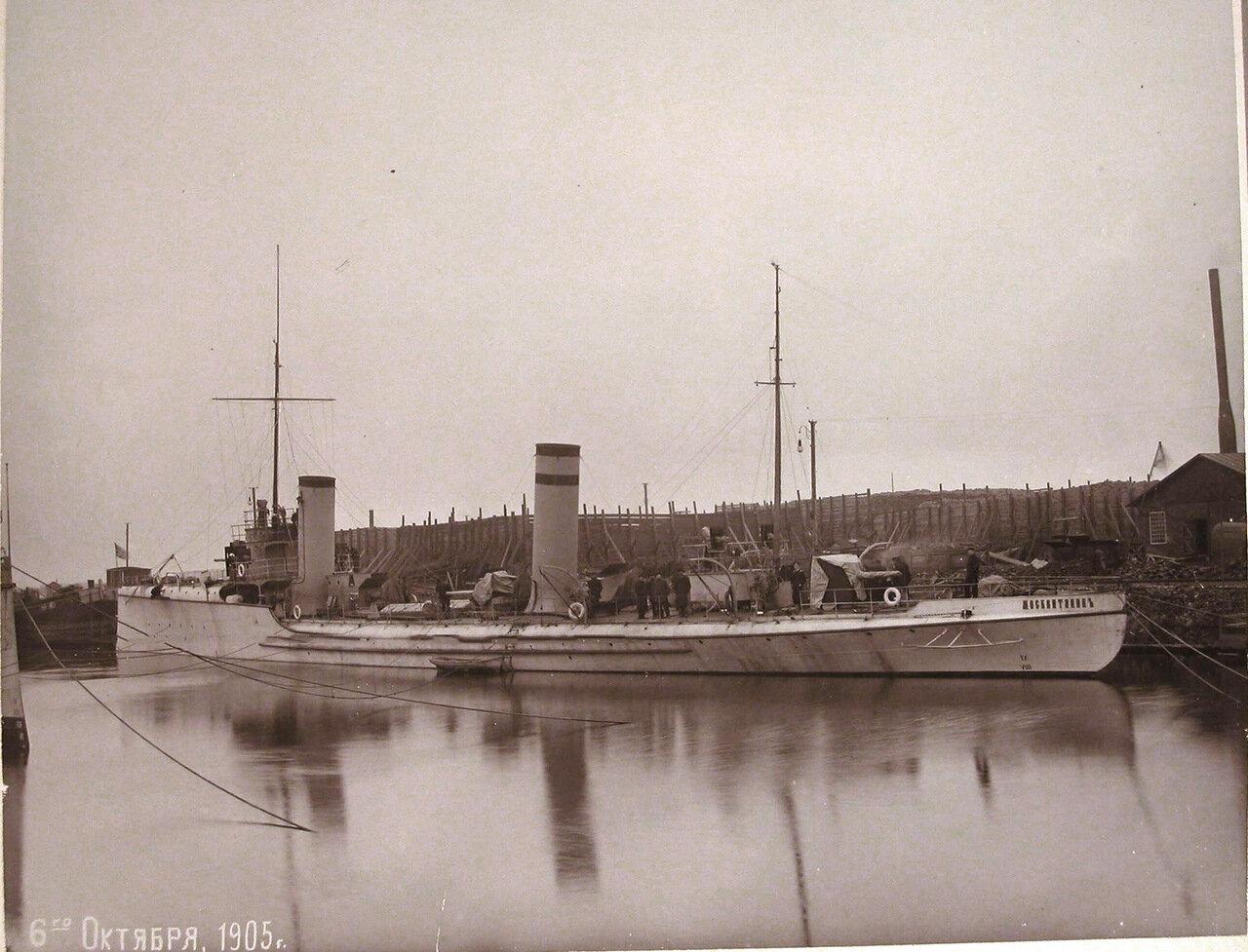 17. Общий вид минного крейсера «Москвитянин». 06 октября 1905