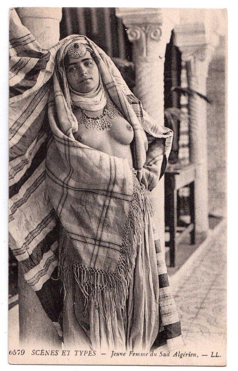 1900-е. Женщина из южного Алжира