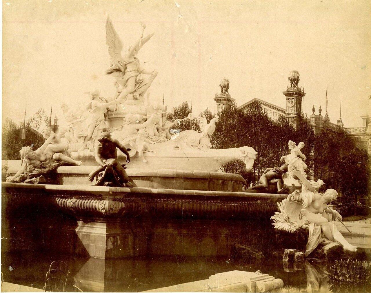 Бассейн фонтана