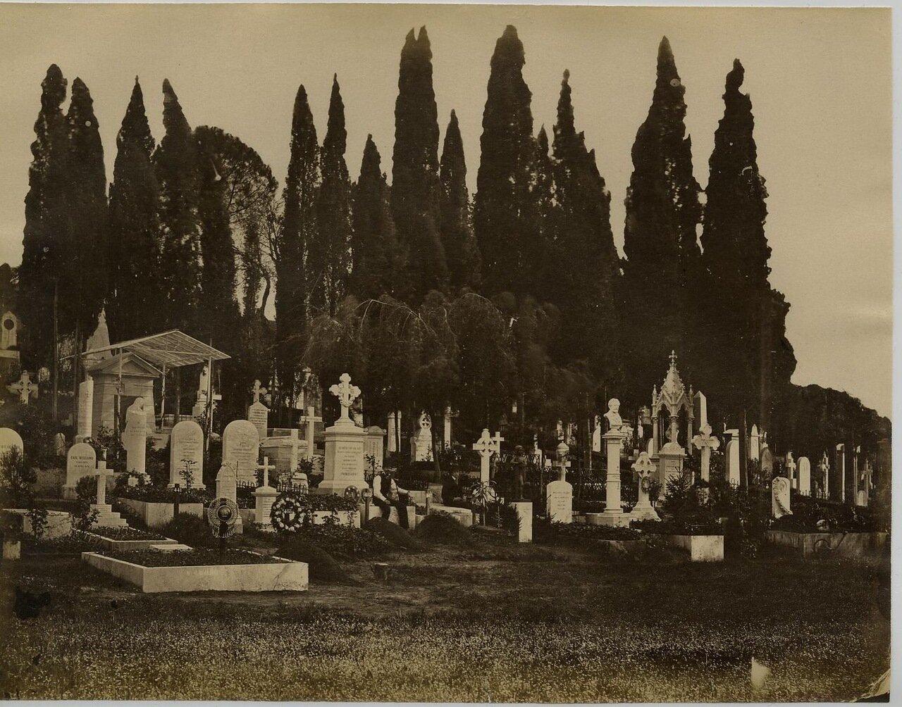 Кладбище. 1875