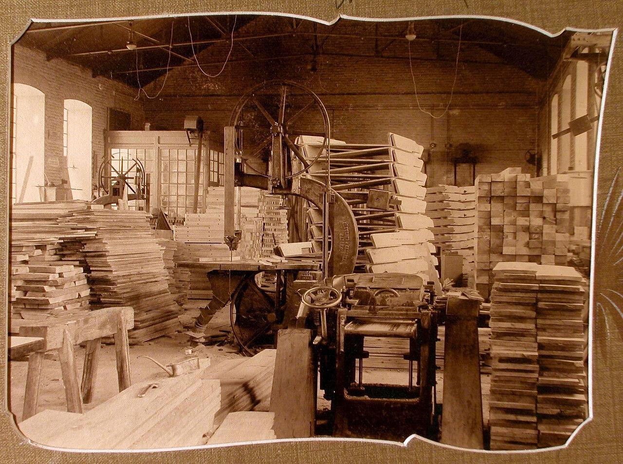 Столярное отделение Мариинского машиностроительного завода