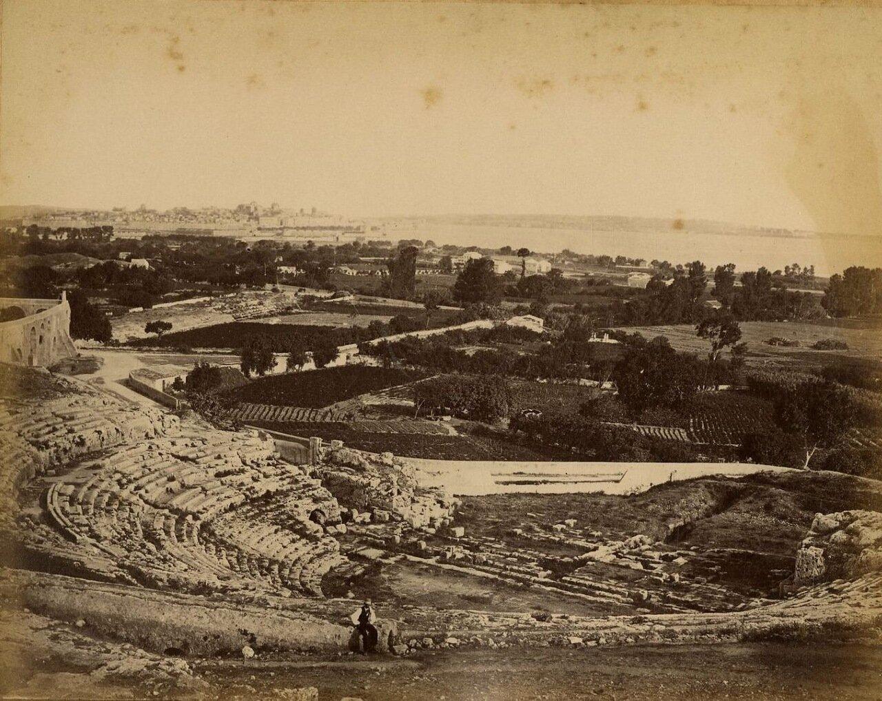 Сиракузы. Греческий театр