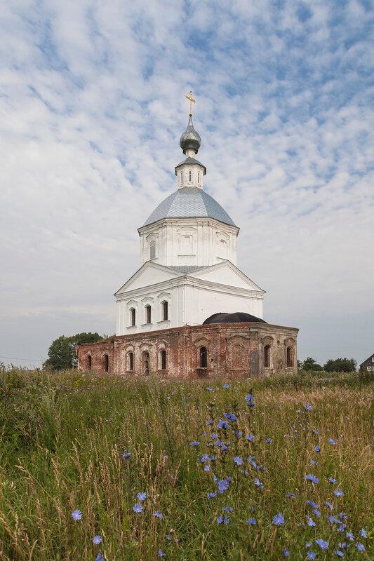 Храм Василия Великого в Кистыше. Церковь Александра Суворова.