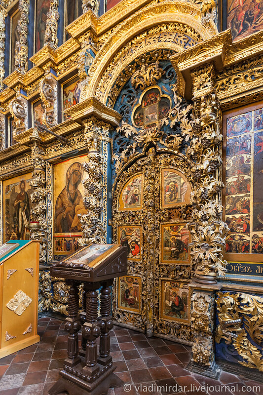 Царские врата. Храм Ильи Пророка. Ярославль. Золотое Кольцо.