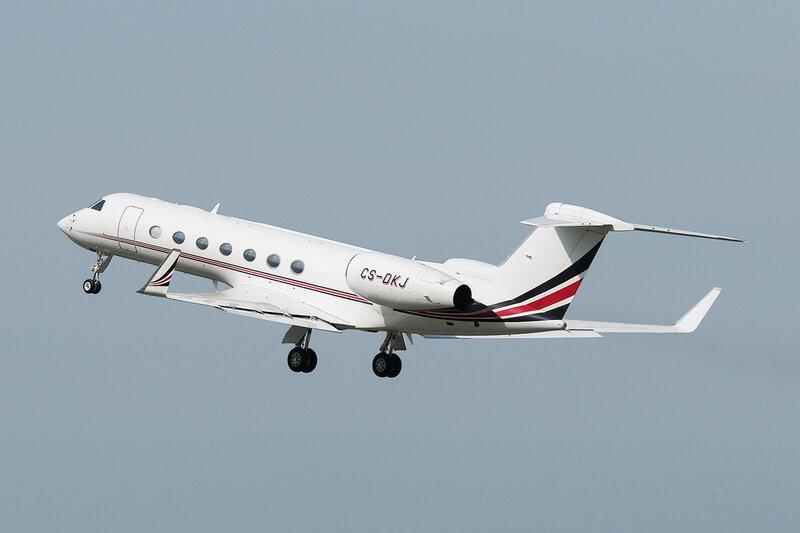 Gulfstream G550 (CS-DKJ) NetJets Europe DSC1799