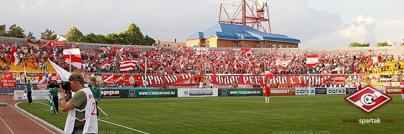 «Краснодар» vs «Спартак» 0:1 Премьер-лига 2012-2013 (Фото)
