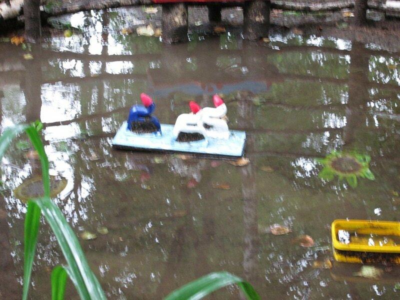 дождь. детский сад