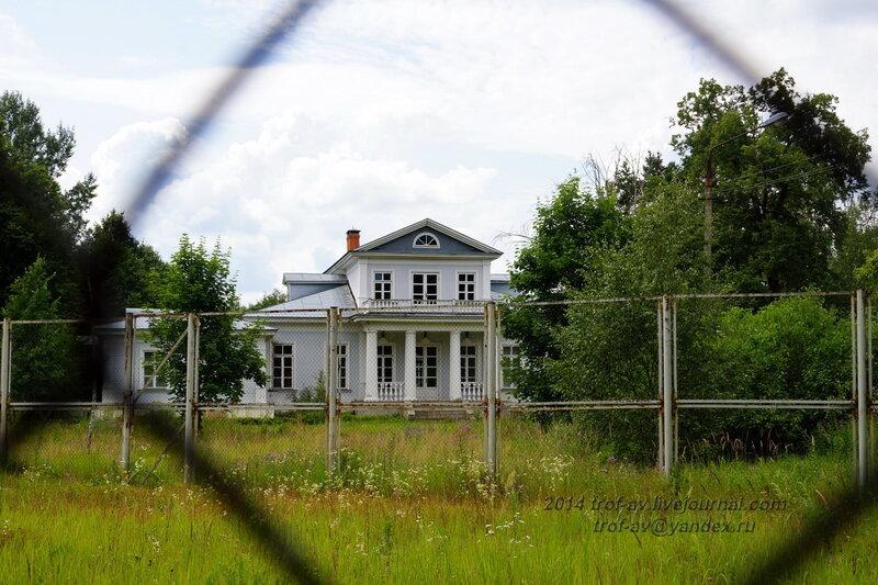Главный усадебный дом. Усадьба Герцена Покровское-Засекино