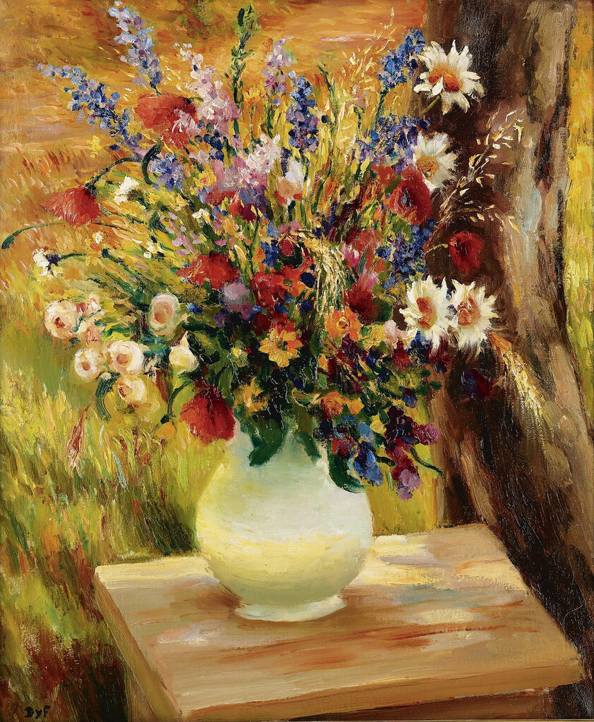 Marcel Dyf - The Vase with Field`s Flowers, 1950.jpeg