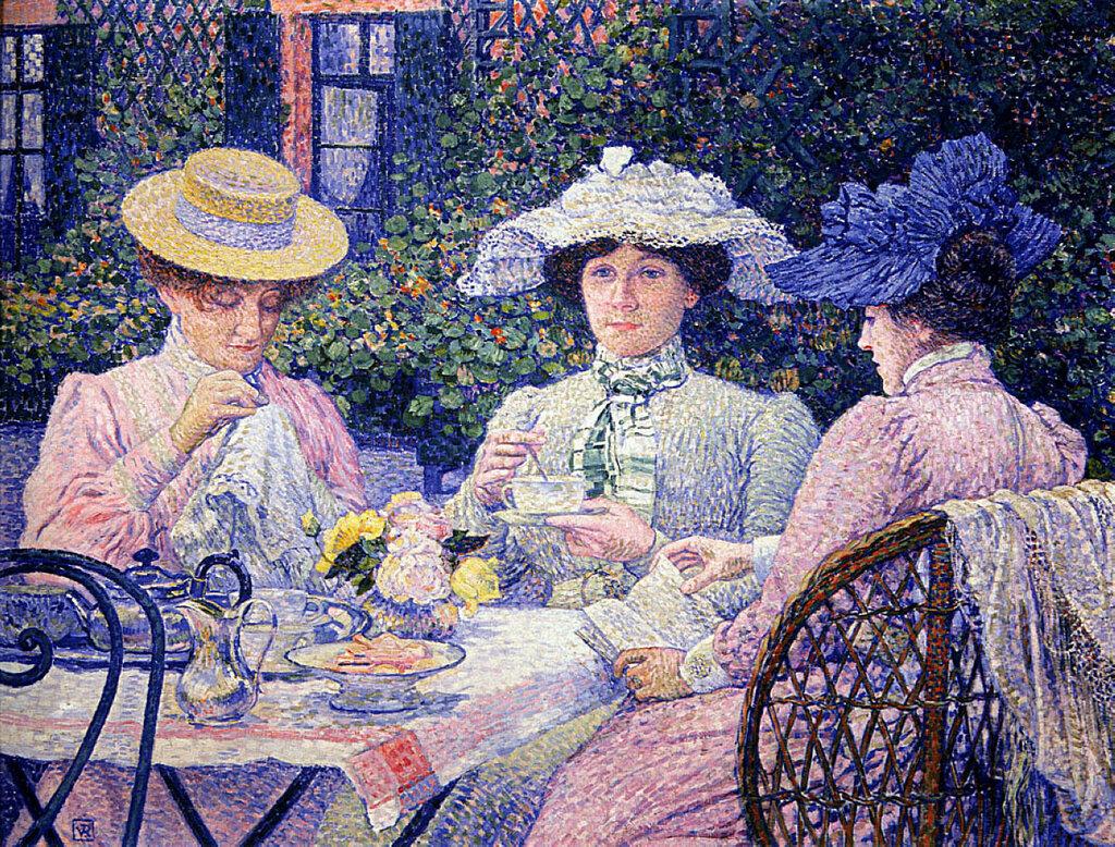Summer Afternoon (Tea in the Garden), 1901.jpg