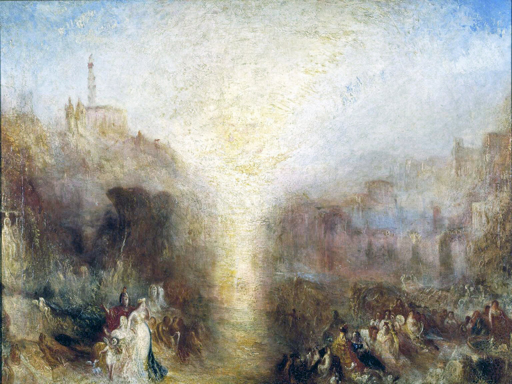 The Visit to the Tomb exhibited 1850 Joseph Mallord William Turner 1775-1851 Accepted by the nation as part of the Turner Bequest 1856 http://www.tate.org.uk/art/work/N00555