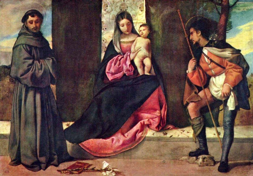 «Мадонна с Антонием Падуанским и св. Рохом»