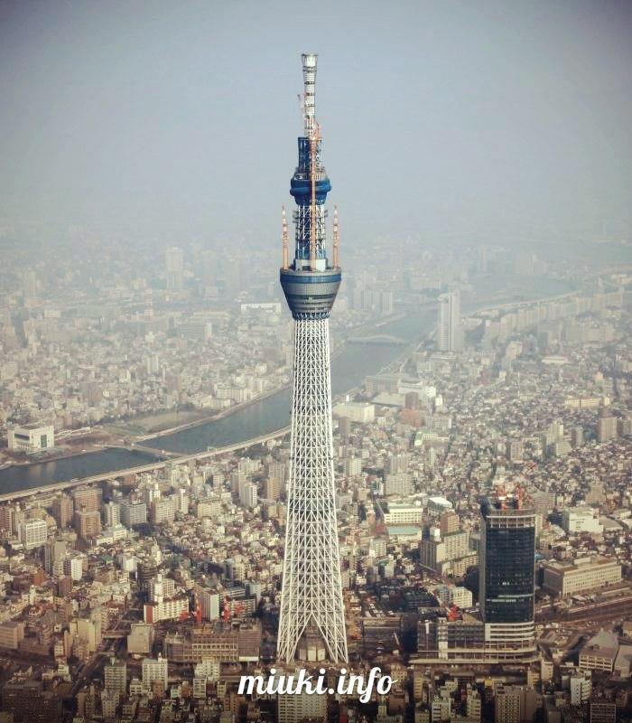 Самая высокая телебашня мира открыта в Токио