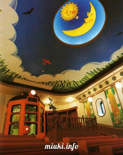 Музей аниме-студии Ghibli в Митаке (Токио)