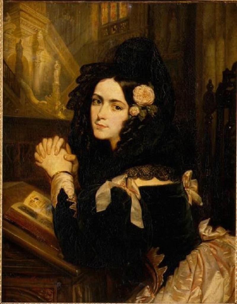 1 Розина Гийом Леполь  автор  1837  холст, масло  92х73,5.jpg