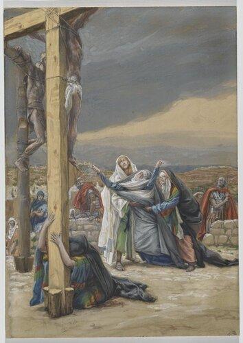 св. Мария Магдалина у креста