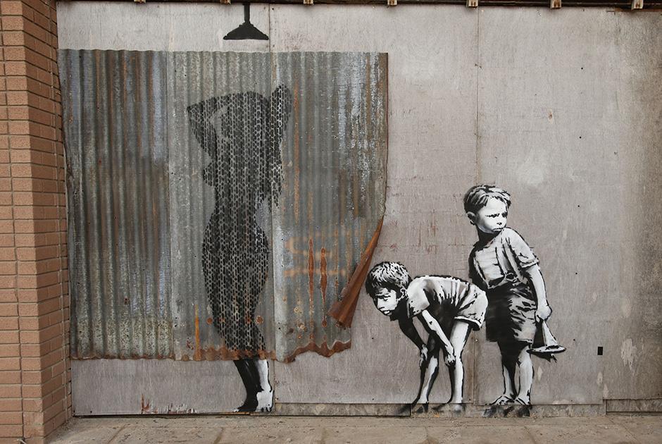 Уличный художник Бэнкси откроет тематический парк «не для детей»